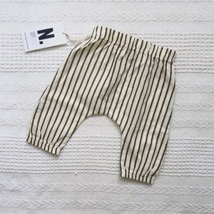 GO GENTLY Nation striped woven baby pant